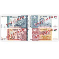 Koncom minulého roka Národná banka Tadžikistanu predstavila revidované bankovky nominálu 5 a 10 Somoni, s pridaným nového ochranného pruhu na pravej prednej strane.
