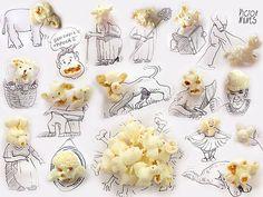 Oggetti e illustrazioni creative