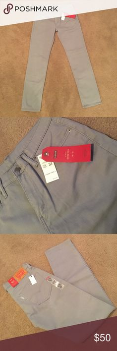 Levi's 511 Stretch 33x34 Levi 511 Stretch 33x34 Gray Jeans. NWT awesome jeans!! Pet & Smoke Free Home Always! Thanks for looking, liking, and sharing. Offers welcome! Levi's Jeans Slim Straight