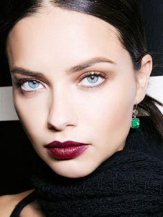 For similar look try KOSAS lipstick in DARKROOM