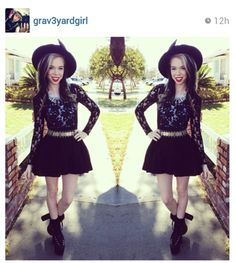 graveyard girl outfits - Google Search
