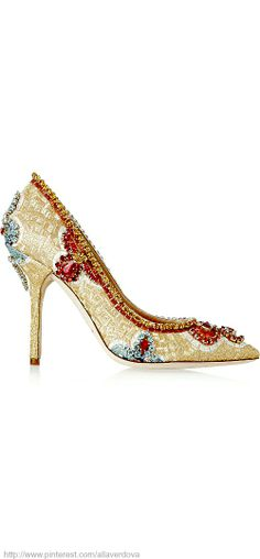 Party heels for these holidays - DOLCE & GABBANA