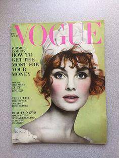 vintage Vogue Magazine April 15 1968 Liza Minnelli Avedon Shrimpton fashion mag