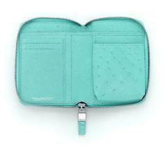 Tiffany & Co. - Smart Zip Wallet in Tiffany blue