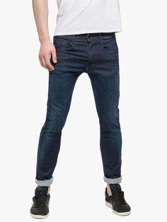 Men's Clothing- Shop the latest range of men's designer clothing with Evolve Clothing. Evolve Clothing, Replay, Blue Denim, Denim Jeans, Dark Blue, Footwear, Clothes For Women, Trending Outfits, Pants