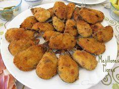 Las Recetas de Mamá Pepi: Mejillones Tigre / Stuffed mussels