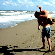 Me and Zac went to the Beach for our Date!      -Mackenzie