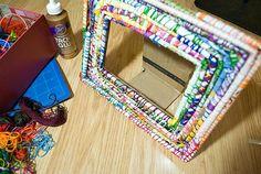Smitten and Hazel » DIY: Handmade Magazine Picture Frame