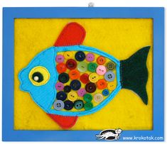 70 Creative sea animal crafts for kids (Ocean creatures) - Craftionary Fish Crafts, Craft Stick Crafts, Crafts To Do, Arts And Crafts, Craft Ideas, Project Ideas, Plate Crafts, Preschool Crafts, Sea Animal Crafts