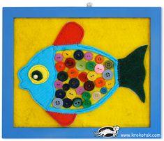Kid'sRoomDecoBUTTON-FISH