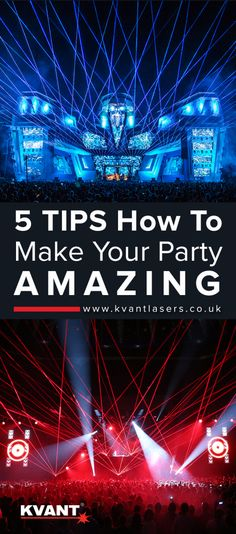 tips for amazing party