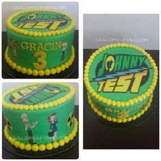 Johnny Test cake Www.facebook.com/simplycakes.brittneyshiley
