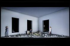 Stagedesign for Ibsens´ FRAU VOM MEER, a play for Theater Bonn, Germany Sebastian Hannak
