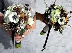 Beautiful Winter Bouquets for Weddings