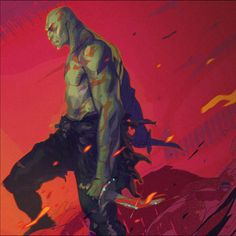 "Drax the Destroyer - Coran ""Kizer"" Stone Marvel Comic Character, Comic Book Characters, Marvel Characters, Comic Books Art, Character Art, Book Art, Marvel Comics Art, Marvel Vs, Marvel Heroes"