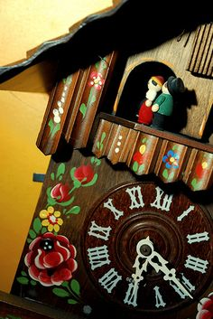 German Cuckoo Clock by Owl Soup, via Flickr My grandparents had one like this.
