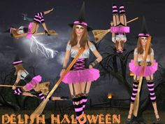 .:: DELISH ::. Halloween Costumes  + Skin + Shape - Witch V2 - Pink