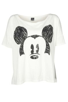 MICKEY MOUSE SS CROPPED SS TOP JRS INR 1695