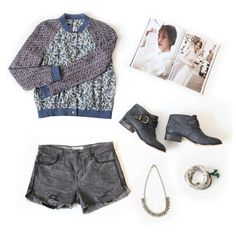 spring fashion I love these shoes and that sweater