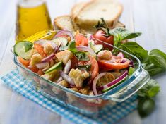 Last minute receptek rögtönzött (nyári) összejövetelekhez Fresca, Pasta Salad, Potato Salad, Beverages, Favorite Recipes, Lunch, Diet, Chicken, Ethnic Recipes