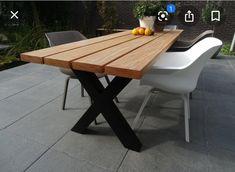 Outdoor Tables, Outdoor Decor, Backyard, Patio, Picnic Table, Pergola, New Homes, Outdoor Furniture, Home Decor