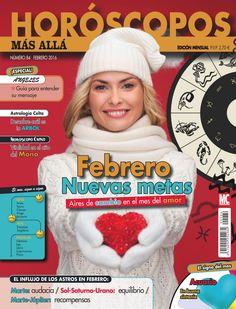 Revista HORÓSCOPOS MÁS ALLÁ 84, #febrero. Nuevas metas.