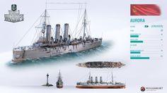 Der russische Kreuzer Aurora im Premium-Laden World Of Warships Wallpaper, Tank Warfare, Boat Projects, Naval History, World Of Tanks, Nautical Art, Armada, Navy Ships, Model Ships