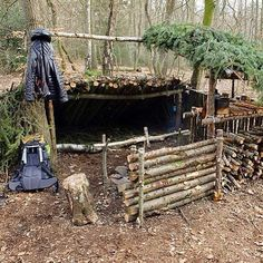 """""""It's no secret that shelters is my preferred bushcraft project, and while some people build themself a shelter - there is people who build a home! I had…"""""""