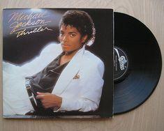 "SALE Michael Jackson ""Thriller"" Vinyl Record LP. TRUE Original 1st Press."