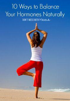 10 Ways to Balance Your Hormones Naturally