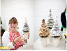 5 easy steps to making your own paper tree!    paper crafts. paper trees. christmas. decorations.