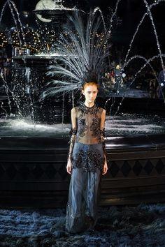 Louis Vuitton Paris Fashion Week spring 2014 runway show - Goodbye Marc Jacobs...beautiful last show at LV