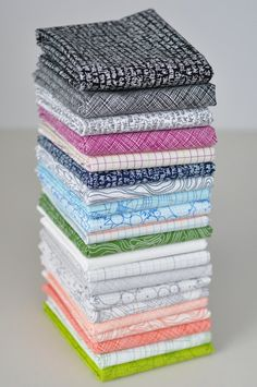Architextures Fat Quarter Bundle of 21 by Carolyn Friedlander COMPLETE. $52.50, via Etsy.