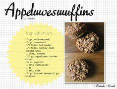 Appelmoesmuffins