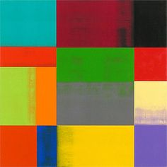 Charles Arnoldi, Traffic  2006, Acrylic on Canvas mounted to wood panel @ Baker Sponder Gallery
