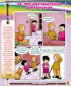Komik Adab Menjaga Kebersihan