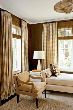 Phoebe's Formula Living Room Windows, Living Room Decor, Living Spaces, Living Rooms, Kids Window Treatments, Window Coverings, Ideas Vintage, Decor Inspiration, Decor Ideas