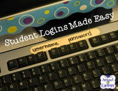 Show Us How You Use It: Student Logins Made Easy With Popsicle Sticks!