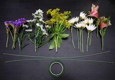 Super awesome tutorial, on how to make a lovely flower crown.Im guessing these could also be made with fake flowers too.