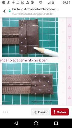 Diy Sewing Projects, Sewing Hacks, Sewing Tutorials, Sewing Crafts, Sewing Patterns, Techniques Couture, Sewing Techniques, Creation Couture, Couture Sewing
