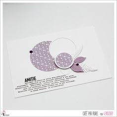 """Aurel : #Tampons et #matrices de coupe #dies #4enSCRAP """"L'Amitié est précieuse"""" #texte #scrapbooking #DIY #loisirscréatifs #carte #carterie Mini Albums, Scrapbooking Diy, Tampons Transparents, Invitation, Roses, Happy Moments, Ink Stamps, Cutaway, Pink"""