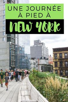 Journée à pied en voyage à New York