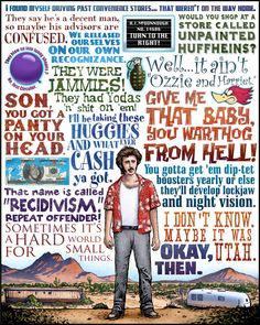 Coen Brothers Classic Film Print Series by Chet Phillips...One of my favorite movies.