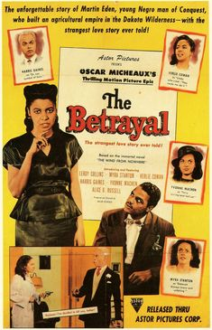 "Poster for ""The Betrayal"" (Oscar Micheaux film)"