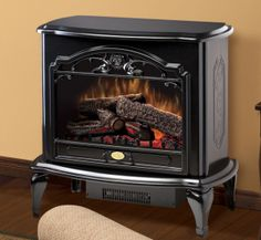 The Dimplex Celeste stove has old world charm and craftsmanship. Enjoy your Dimplex Celeste stove year round. The Dimplex Celeste stove is available in a cream or black finish to suit your room décor. Dimplex Electric Fireplace, Stove Heater, Electric Stove, Stove Fireplace, Faux Fireplace, Fireplace Ideas, Electrical Outlets, French Country Decorating, Tatoo