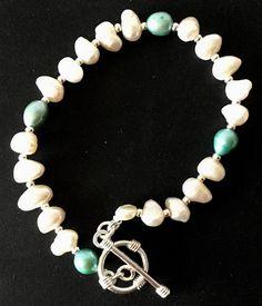 Ankle Bracelets, Jewelry Bracelets, Ivory Pearl, Silk Thread, Cultured Pearls, Pearl Bracelet, Fresh Water, Jewelery, Handmade Jewelry