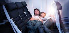 economy couch! designed by IDEO for Air new zealand