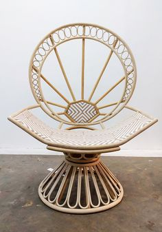 THE BIRTH OF THE ZAHRA PEACOCK CHAIR