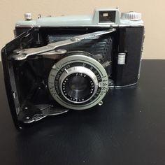 Vintage Kodak Anaston Tourist 620 Diomatic Shutter Lens Folding Film Camera Case | eBay