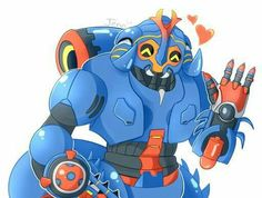 I really love the new overwatch hero Orisa this is my favorite skin of hers Dynastinae Orisa Overwatch Zenyatta, There Goes My Hero, Overwatch Memes, Old Memes, Game Character, Funny Comics, Geek Stuff, The Incredibles, Fan Art